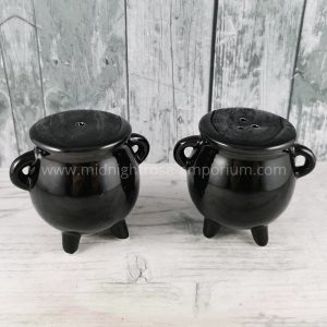 Cauldron Cruet Set - Black Magic Collection