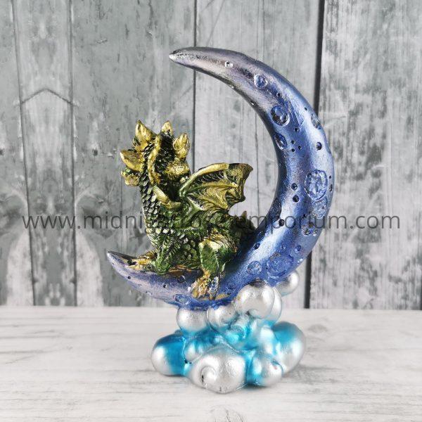 Moon Watcher Dragon - Green