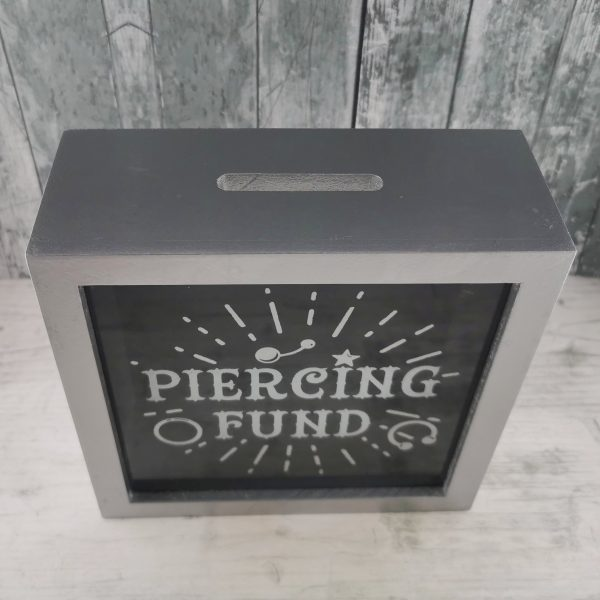 Piercing Fund Money Box/Savings Box