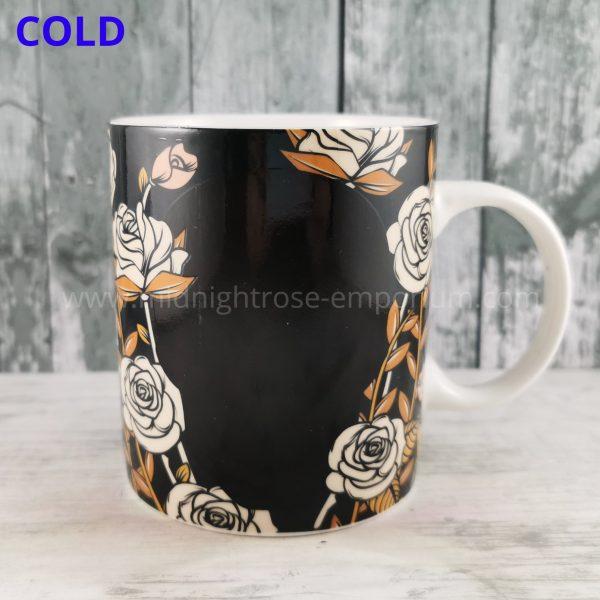 Skulls & Roses Heat Changing Mug