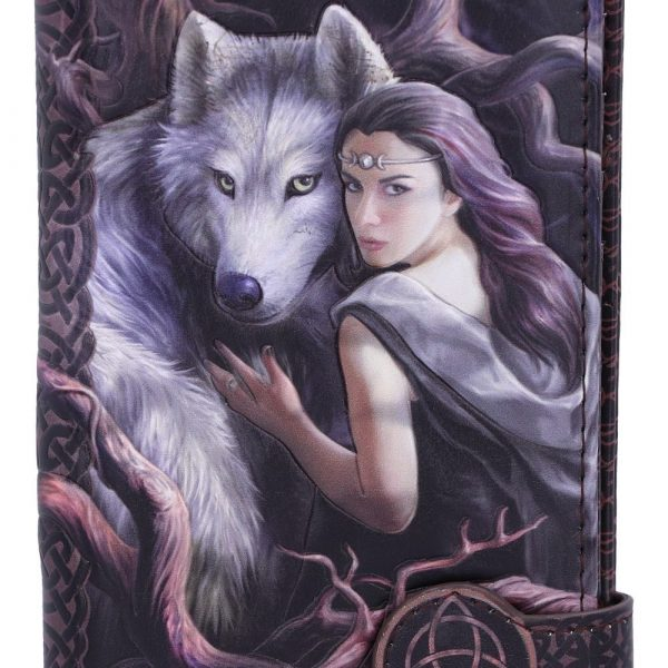 Soul Bond Embossed Wolf Purse