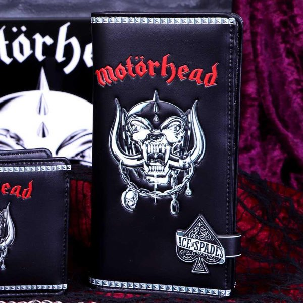 Motorhead Embossed Purse