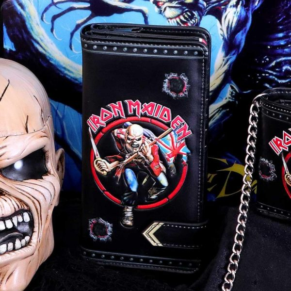 Iron Maiden Embossed Purse