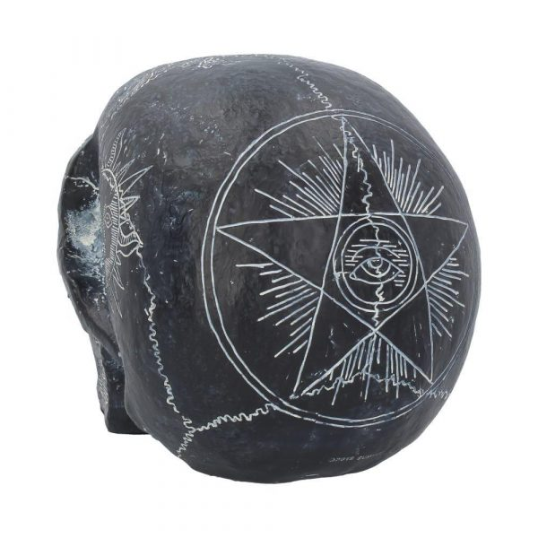 'Dark Spirits' Ouija Skull Ornament 20cm