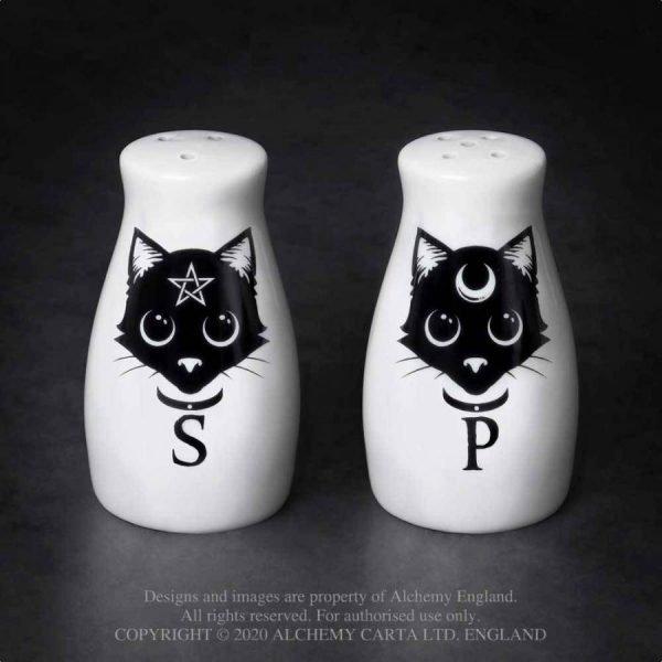 Magic Cats Salt & Pepper Set