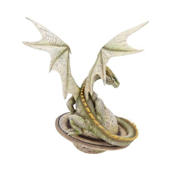 Planetary Dragon Figurine - Saturn Guardian 26.5cm
