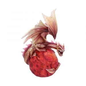 Planetary Dragon Figurine - Mars Guardian 24cm
