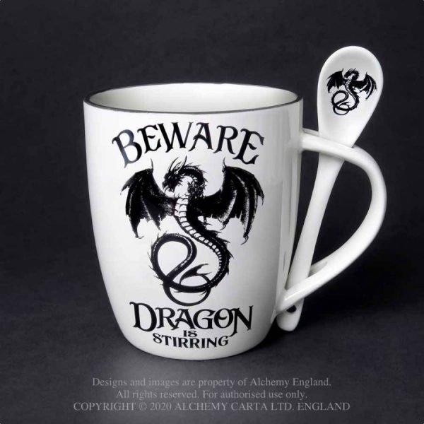 Dragon Stirring Mug & Spoon Set