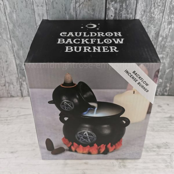 Pouring Cauldrons Backflow Incense Burner