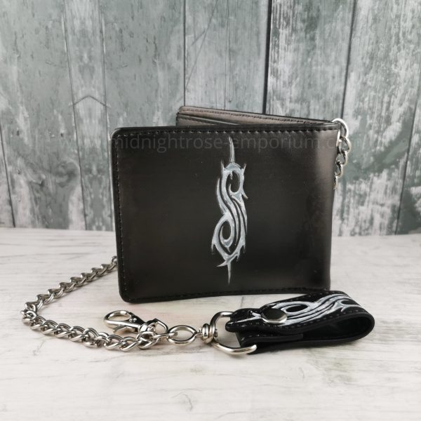 Slipknot Flaming Goat Wallet - Officially Licensed Merch