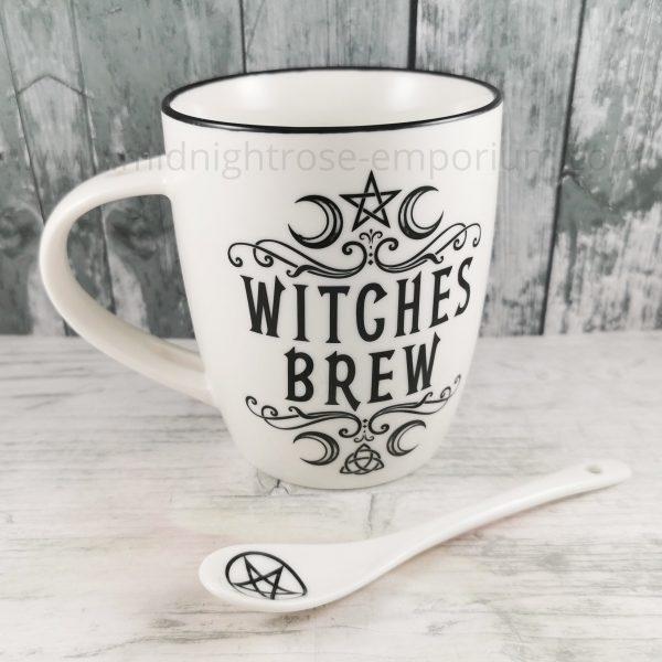 Witches Brew Mug & Spoon Set