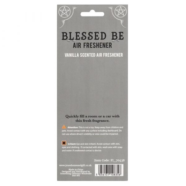 Blessed Be Vanilla Scented Air Freshener