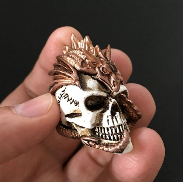 Dragon Keeper Skull Miniature