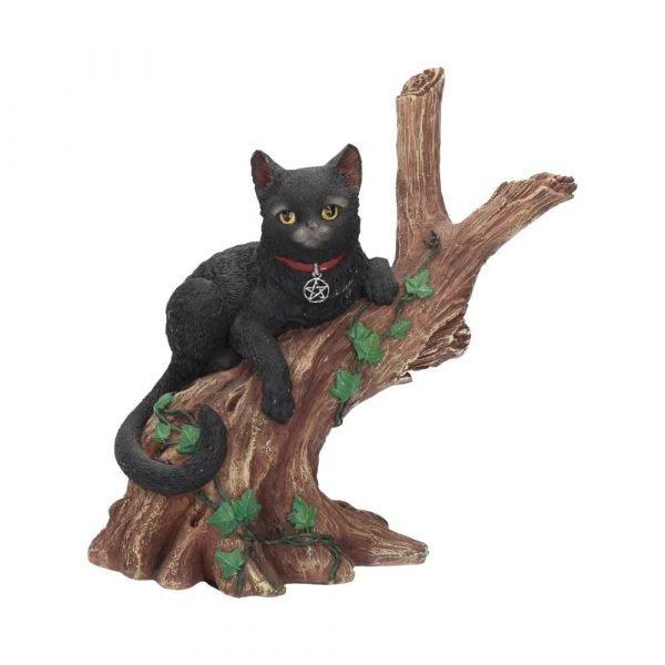 Onyx Magic Cat Figurine 14cm