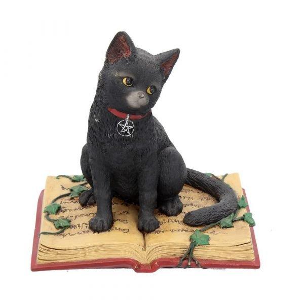 Eclipse Spellbook Cat Figurine 12cm