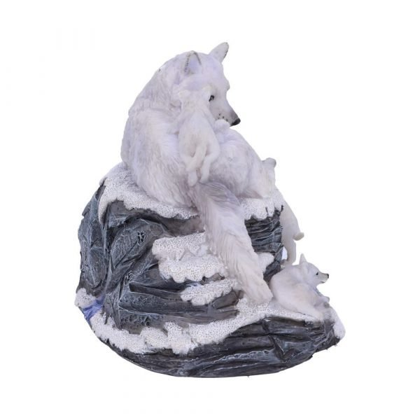 Mother's Watch White Wolf Calendar 13cm