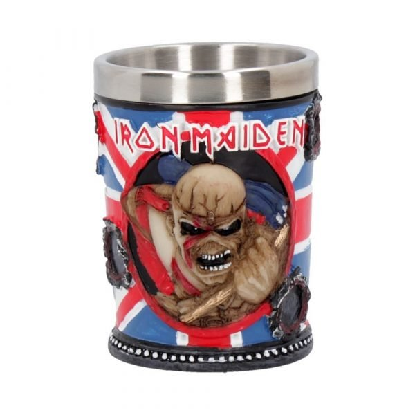 Iron Maiden Shot Glass 7cm