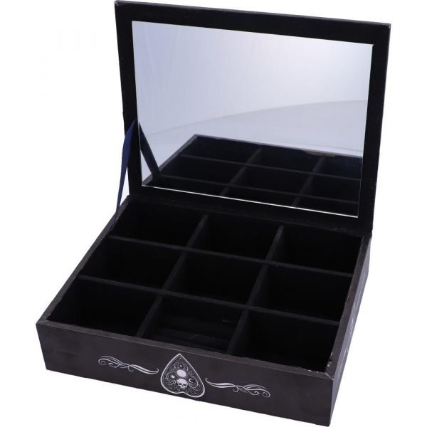 Black & White Spirit Board Jewellery Box 25cm