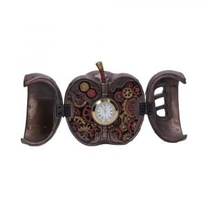 Forbidden Fruit Steampunk Apple Clock 9cm