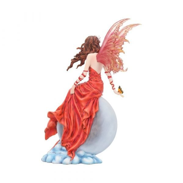 'Crimsonlily' Fairy Figurine by Nene Thomas
