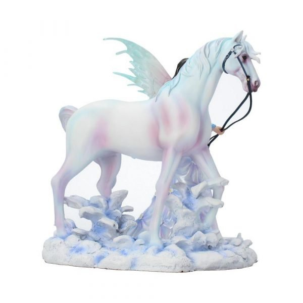 'Winter Wings' Fairy & Unicorn Figurine by Nene Thomas