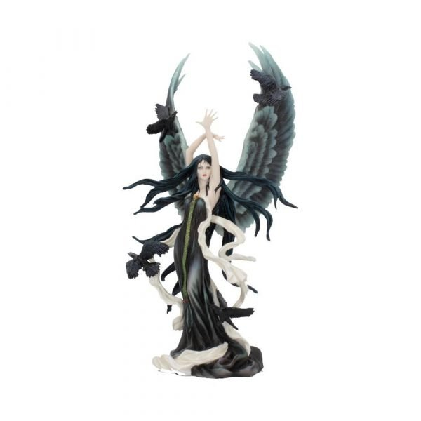 'Faery of Ravens' Dark Fairy Figurine by Nene Thomas