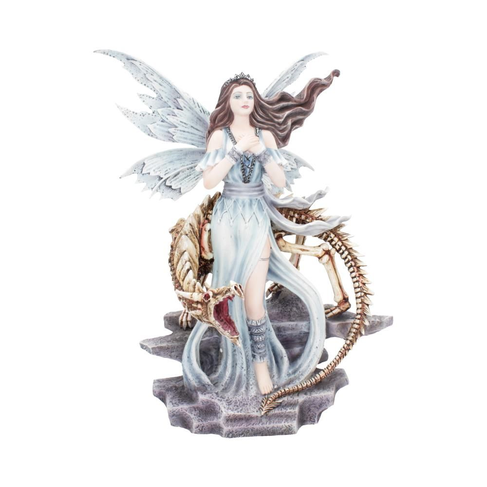 'Lexa' Frost Fairy & Dragon Figurine 27.5cm