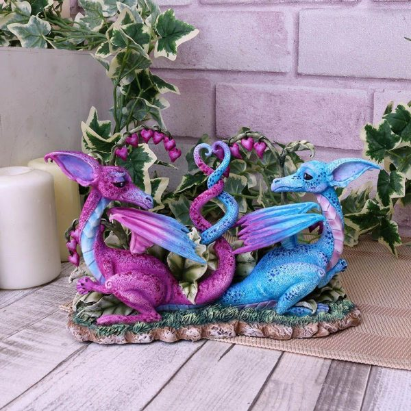 Amy Brown 'Love Dragons' Figurine 23cm
