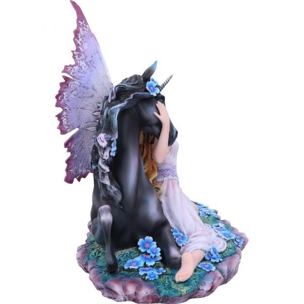 Spirit Bond Unicorn & Fairy Figurine 33cm