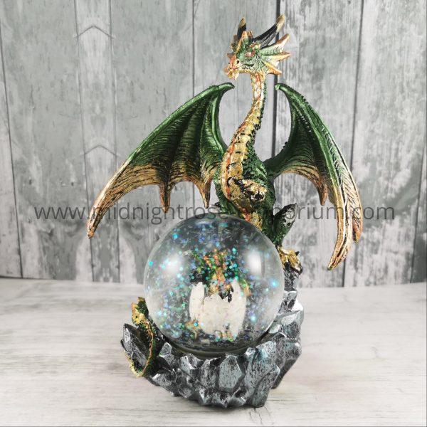 Emerald Oracle Dragon Figurine 19cm