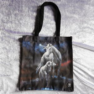 Anne Stokes 'Eternal Bond' Canvas Tote Bag