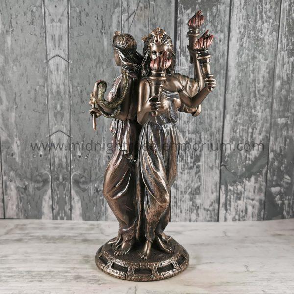 Hecate Goddess of Magic Statue 21cm