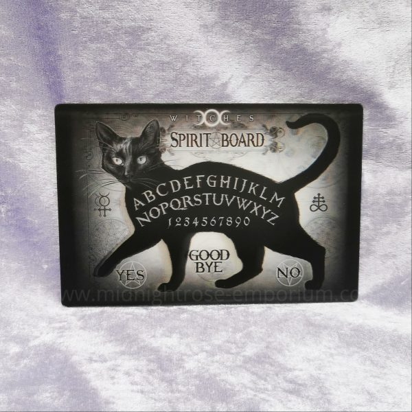 Black Cat Spirit Board 3D Postcard
