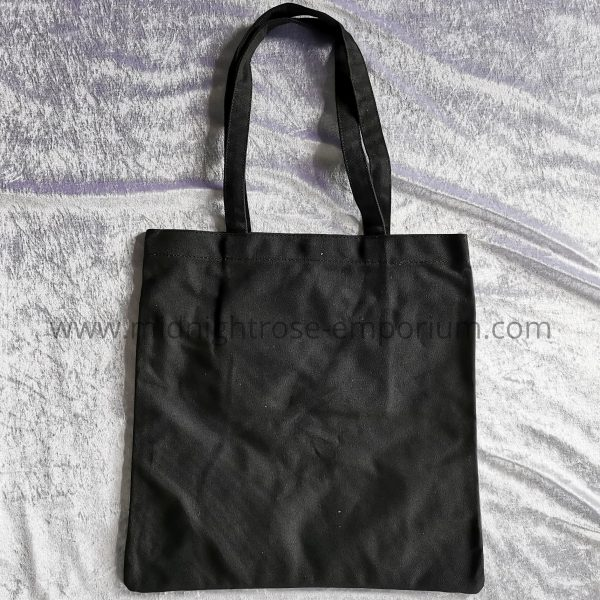Anne Stokes 'Raven' Canvas Tote Bag