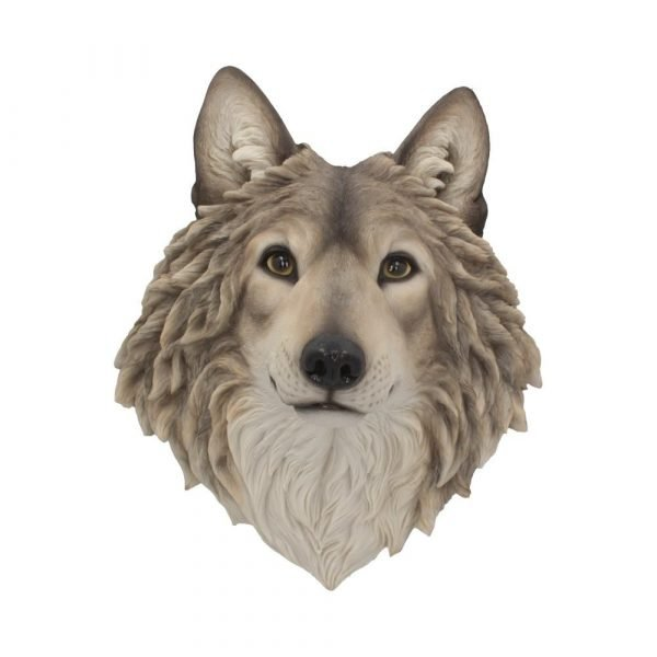 Mountain Spirit Wolf Wall Ornament 46.5cm