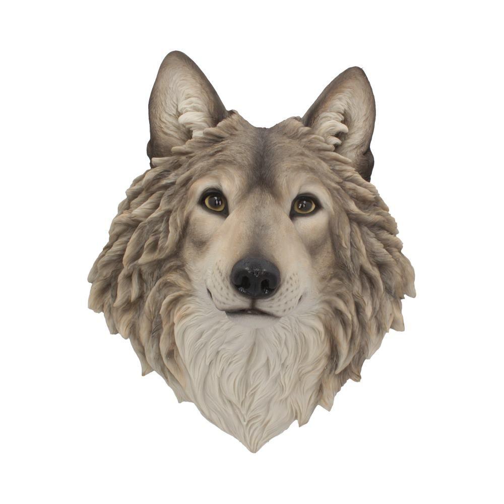 Mountain Spirit Wolf Wall Ornament 46.5cm