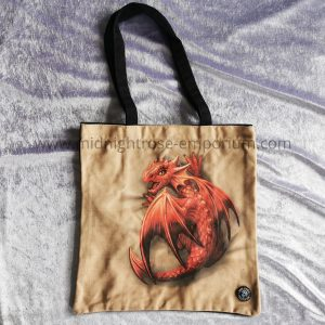 Anne Stokes 'Wyrmling' Canvas Tote Bag
