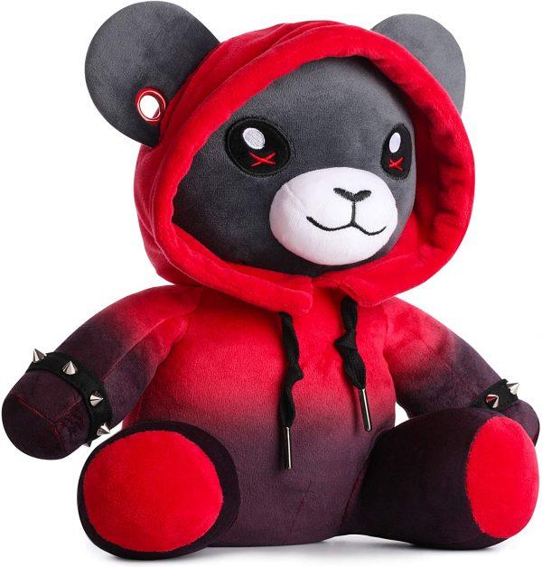 Ember the Punk Teddy Bear Plushie