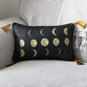 Moon Phases Rectangular Cushion - PRE ORDER