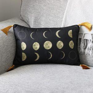 Moon Phases Rectangular Cushion - PRE ORDER
