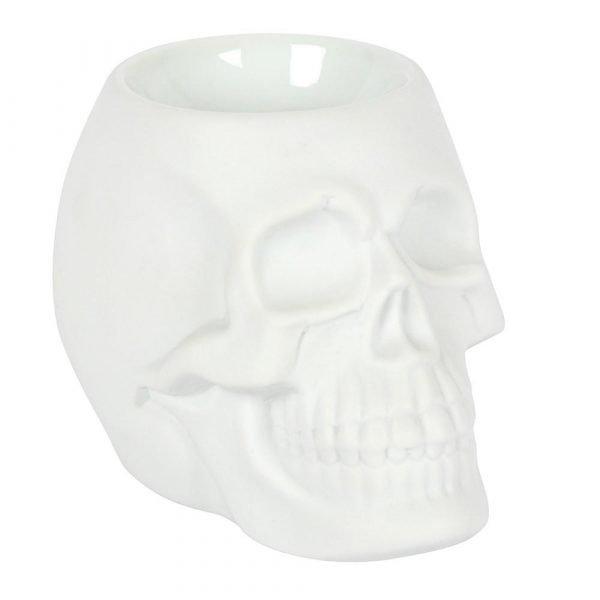 White Skull Oil Burner - PRE ORDER