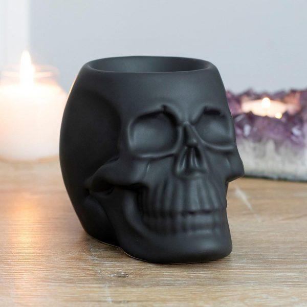 Black Skull Oil Burner - PRE ORDER