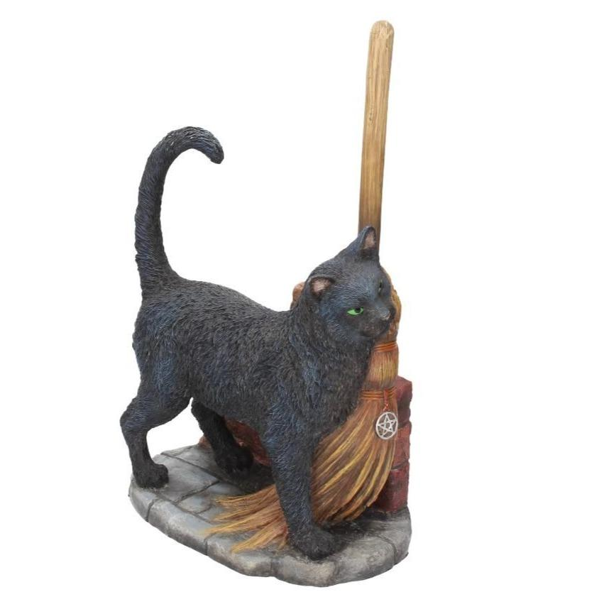 A Brush with Magick Black Cat Ornament - Lisa Parker