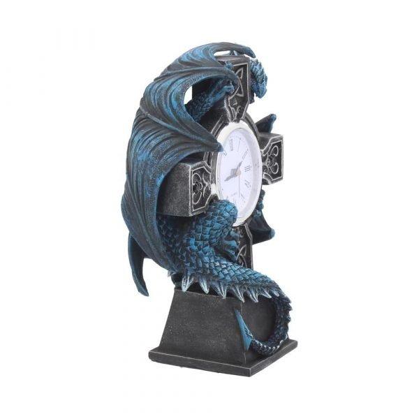 Draco Clock - Anne Stokes - 17.8cm