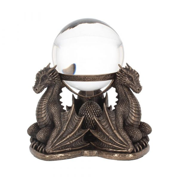Dragons Prophecy Crystal Ball Holder 18.5cm