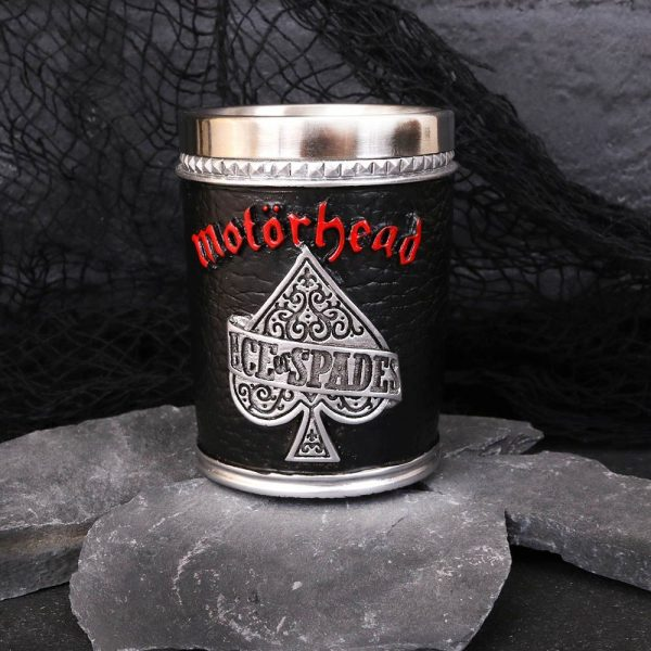 Motorhead Ace of Spades Warpig Shot Glass