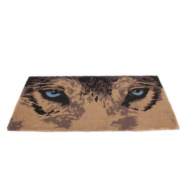 Wolf Eyes Door Mat 45x75cm