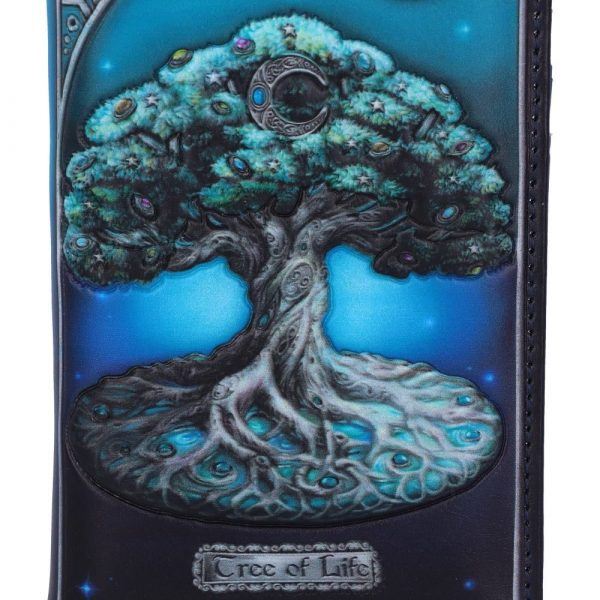 Tree of Life Embossed Purse