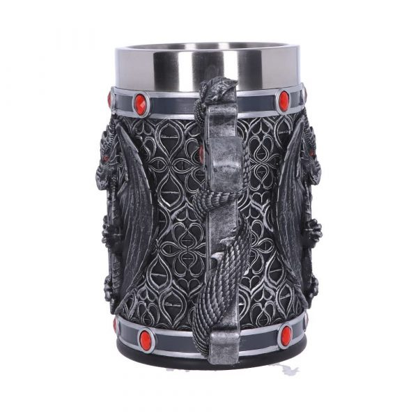 Obsidian Dragon Tankard 17.5cm