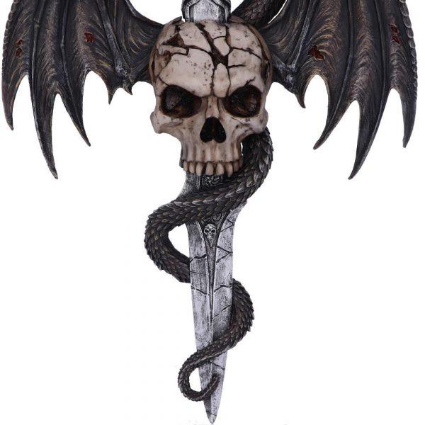 Draco Skull Wall Plaque 36.5cm - PRE ORDER